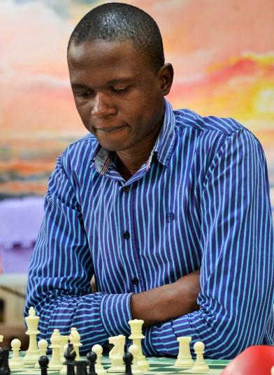 Simon Gonza of Uganda in action. Photo credit Kim Bhari.